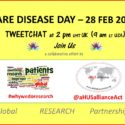 TWEET CHAT ABOUT RARE DISEASE, RESEARCH AND aHUS